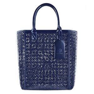 Tory Burch Perforated Tote